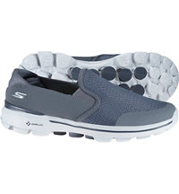 Men's Go Walk 3 Spikeless Golf Shoes - Charcoal (#53988-CHAR)