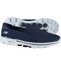 Men's Go Walk 3 Spikeless Golf Shoes - Navy/Gray (#53988-NVGY)