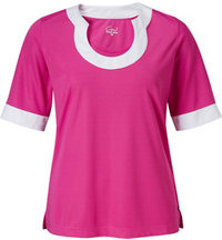 Women's Coraline Short Sleeve Mock