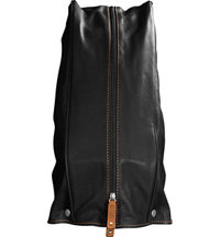 Leather Stand Bag Hood
