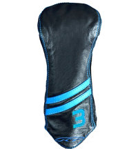 Leather Striped 3 Wood Headcover