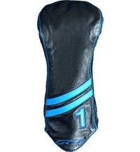 Leather Striped Driver Headcover