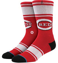 Men's MLB Diamond Red Machine Socks