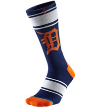 Men's MLB Diamond Tigers Socks