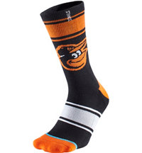 Men's MLB Diamond Camden Yards Socks