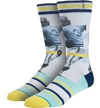 Men's MLB Legends Handlebar Socks
