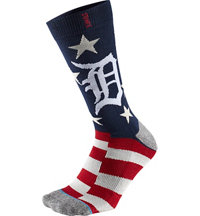 Men's MLB Memorial Day Brigade Tigers Socks