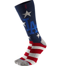 Men's MLB Memorial Day Brigade Dodgers Socks