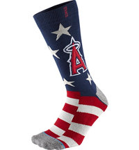 Men's MLB Memorial Day Brigade Angels Socks