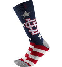 Men's MLB Memorial Day Brigade Cardinals Socks