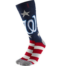 Men's MLB Memorial Day Brigade Nationals Socks