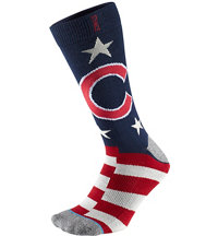 Men's MLB Memorial Day Brigade Cubs Socks
