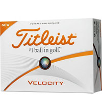 Personalized Velocity Golf Balls