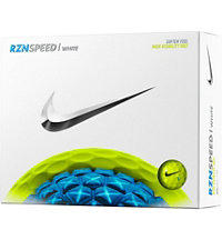 Personalized RZN Speed White- Volt Golf Balls