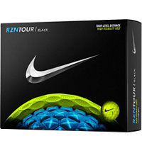 Personalized RZN Tour Black-Volt Golf Balls