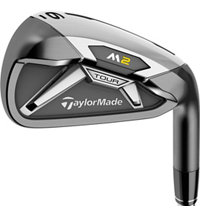 M2 Tour 4-PW,AW Iron Set with Steel Shafts