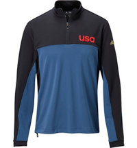 Men's USA Quarter-Zip Pullover