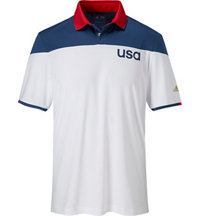 Men's climacool USA Sport BlockShort Sleeve Polo