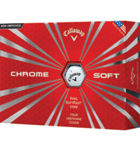 Personalized Chrome Soft Golf Balls