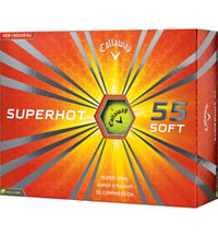 Personalized Superhot 55 Yellow Golf Balls
