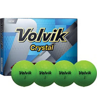 Crystal Green Golf Balls