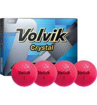 Crystal Pink Golf Balls