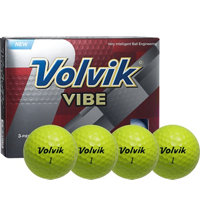 Vibe Yellow Golf Balls