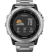 fenix 3 Sapphire GPS Watch with Titanium Band