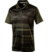 Men's Ice Stripe Short Sleeve Polo