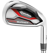 Aeroburner HL 4H, 5H 6-PW, AW Combo Iron Set with Graphite Shaft