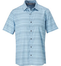 Men's Alikov Woven Short Sleeve Button Up