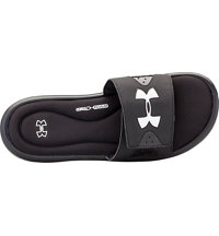 Men's Ignite IV Slide Sandal-Black/White