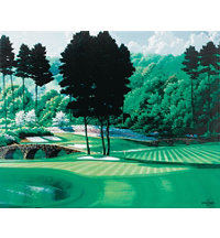 Canvas Art - Augusta 11th Hole