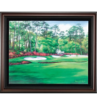Framed Canvas Art - Augusta 13th Hole
