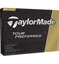 Personalized Tour Preferred Golf Balls