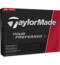 My Number Tour Preferred X Golf Balls