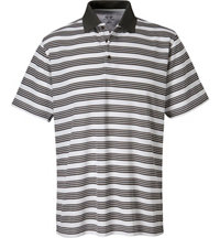 Men's Ombre Stripe Short Sleeve Polo