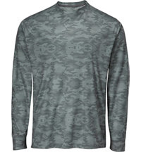 Men's Camo Print Long Sleeve Base Layer