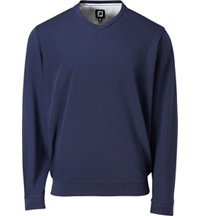 Men's Spun Poly V-Neck Sweater