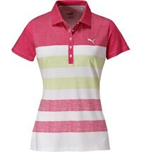 Women's Road Map Texture Short Sleeve Polo