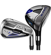 Blemished Fly-Z XL 4H-6H, 7-PW,GW Combo Iron Set with Graphite Shafts