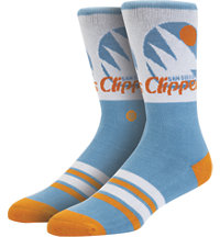 Men's NBA Clippers Crew Socks