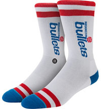Men's NBA Bullets Crew Socks