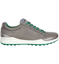 Men's BIOM Hybrid HM Spikeless Golf Shoe-Warm Grey/Pure Green
