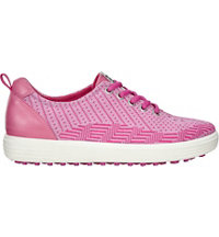 Women's Casual Hybrid Knit Spikeless Golf Shoe-Pink Beetroot/Fandango