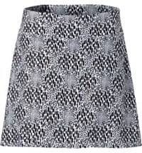 Women's Abstract Animal Print Skort