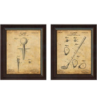 Framed Vintage Art Print (Set of 2) - Club & Tee