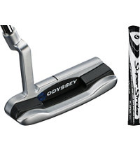 Works Versa Blade Putter with SuperStroke Flatso Grip