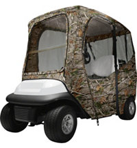 Deluxe Golf Cart Enclosure - Short Roof