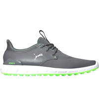 Men's Ignite Sport Spikeless Golf Shoe-Smoked Pearl/Puma Silver/Green Gecko